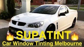 Car Window Tinting Melbourne - Holden Maloo R8 @Supatint