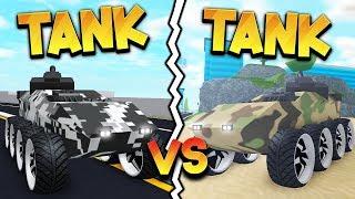 *EPIC* TANK vs TANK /w Bandites (ROBLOX MAD CITY)