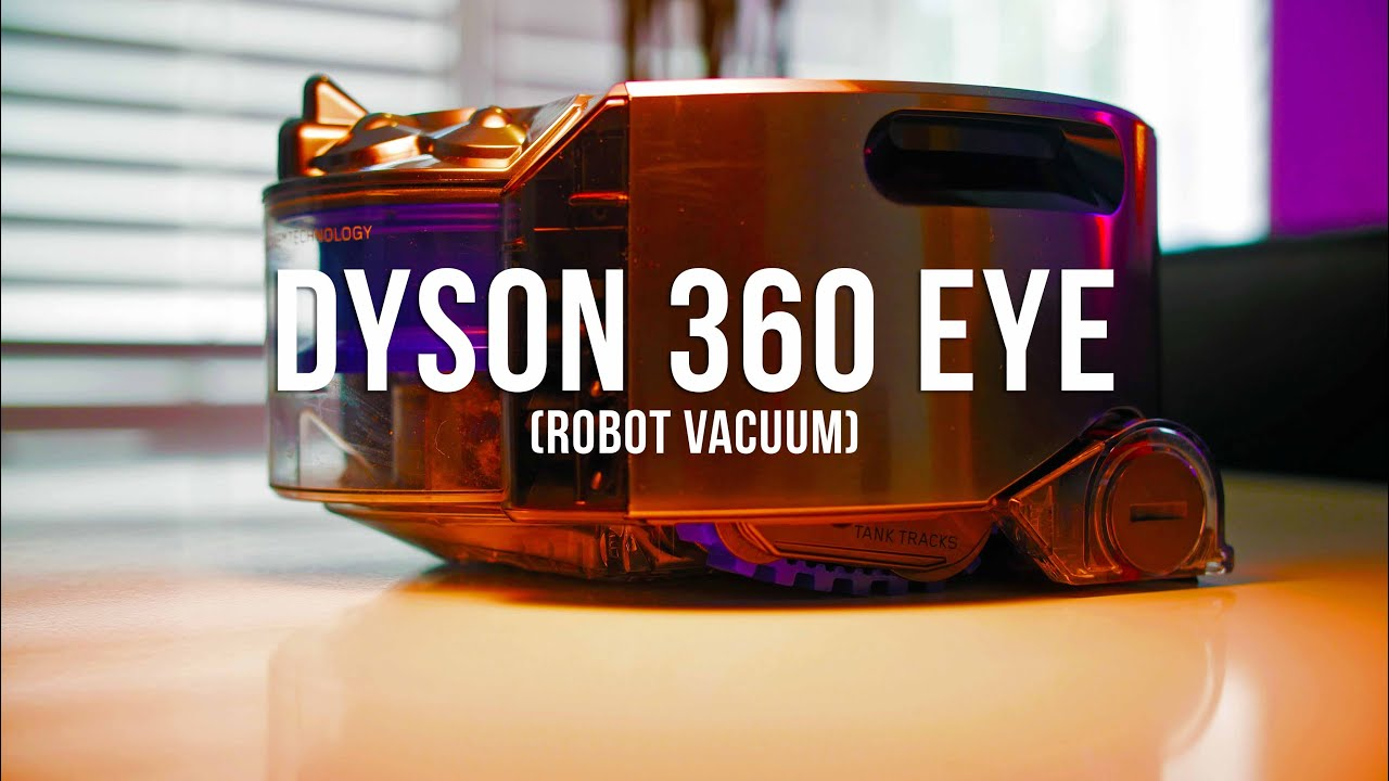Dyson 360 Eye™ robot vacuum - Replacing the battery (US) - YouTube
