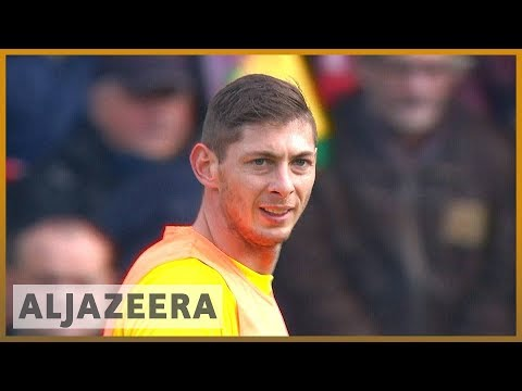 🇬🇧 Cardiff City footballer Sala onboard plane that disappeared | Al Jazeera English