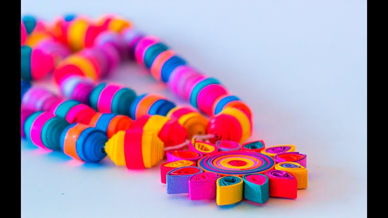 Make Quilling Beads How to Make Quilling Beads