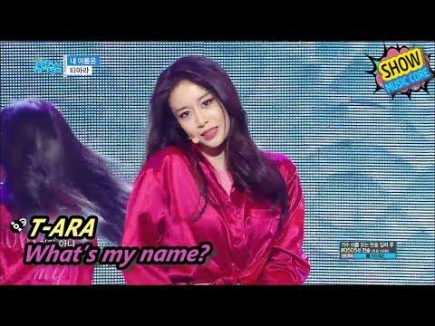 [HOT] T-ARA - What's my name?, 티아라 - 내 이름은 Show Music core 20170624