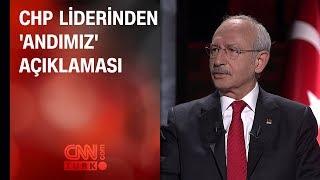 CHP liderinden 'Andımız' açıklaması