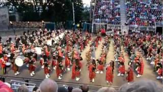 Royal Edinburgh Military Tattoo, 2011- Massed Pipes & Drums.