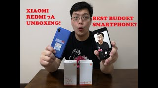 Xiaomi Redmi 7A Best Budget Smartphone? - Unboxing and Overview