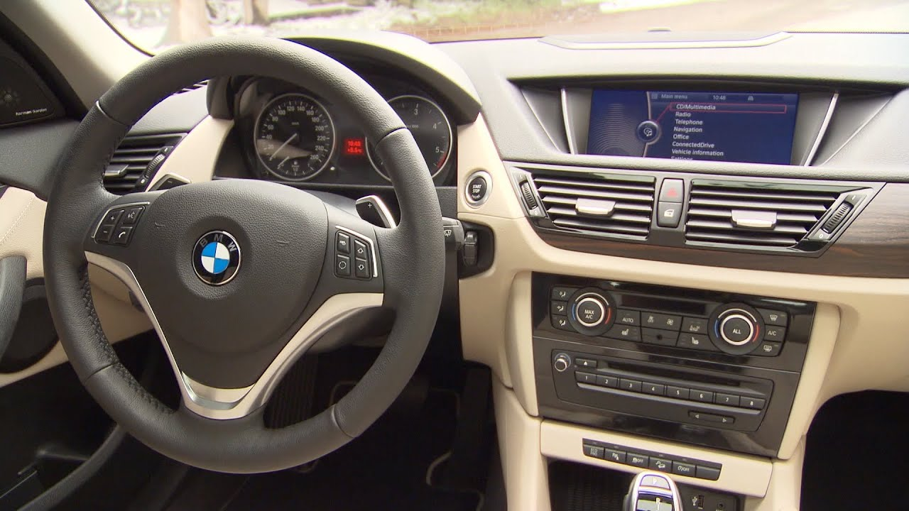 Bmw X1 25d Xline 2012 Interior Youtube