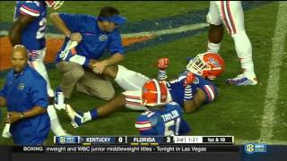 Kentucky vs Florida 2014 FOOTBALL FULL GAME HD