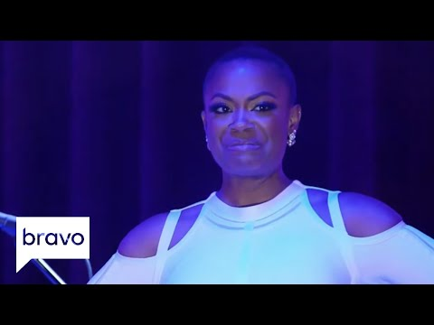 Married To Medicine Mariah Huq Is Barefoot At The Reunion Season 4 Episode 15 Bravo Youtube