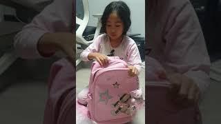 윤티비 윤아놀자 초등학교 입학준비 닥스 책가방 언박싱