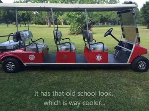 Alabama Stretch Limo Custom 8 Seater Golf Cart Shuttle For Sale