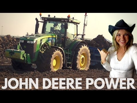JOHN DEERE POWER (8360 R - 8520 - CAT D6 - CAT D7) [ITA/ENG]