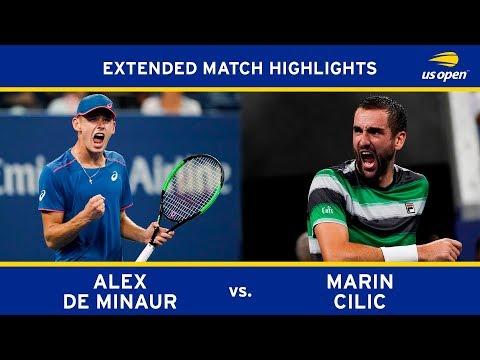 Extended Highlight: Alex De Minaur vs. Marin Cilic | 2018 US Open, R3