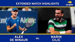 Extended Highlight: Alex De Minaur vs. Marin Cilic | 2018 US Open, R3