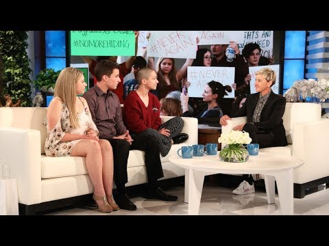 Stoneman Douglas Activists Discuss the School Shooting with Ellen