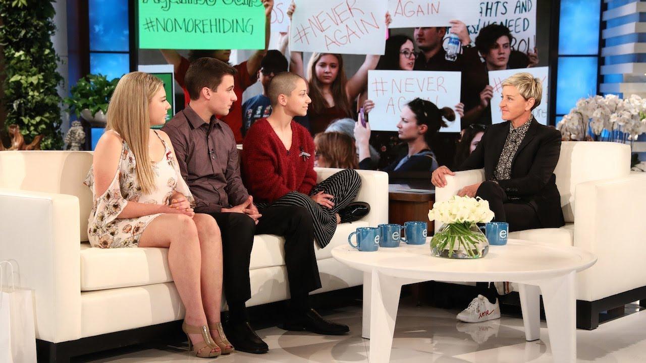 Stoneman Douglas Activists Discuss the School Shooting with Ellen
