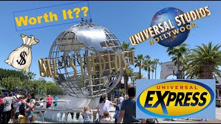 Universal Studios Hollywood Express Pass - Is It Worth It??