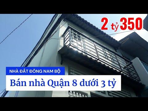 Bán nhà hẻm 23 Đường số 16 (nối dài), P.4, Quận 8 giá rẻ 2 tỷ 350