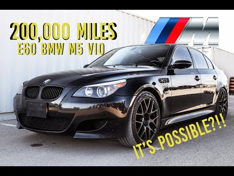 319,000KM [200,000 Miles] E60 V10 M5! Maintenace Costs $$