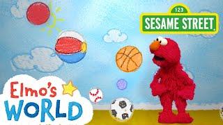 Sesame Street: Balls | Elmo's World