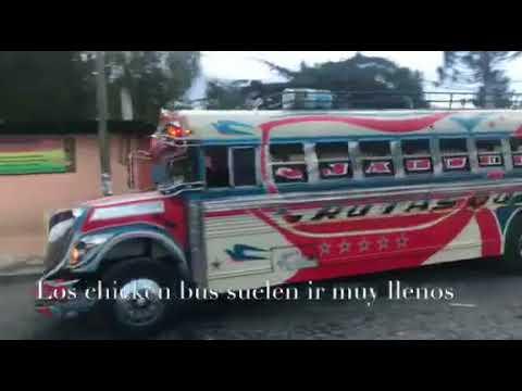8bb83d1a65 Así es viajar en un Chicken bus de Guatemala - De viaje con Jairo ...
