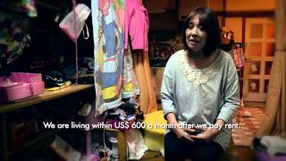 Charity for Shithole Japan: Living Below The Poverty Line [2014]