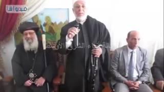بالفيديو : قيادات شمال سيناء تهنىء الإخوة الأقباط بعيد الميلاد المجيد