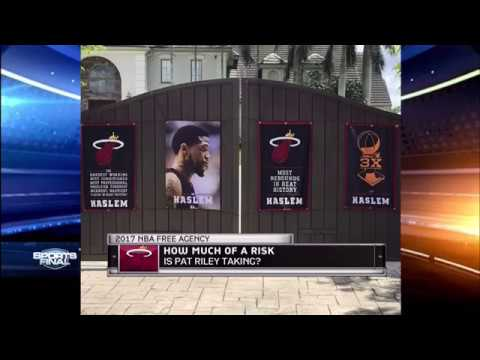 July 01, 2017 - Sports Final - Miami heat Honor Free Agent Udonis Haslem at his home (WPLG 10)