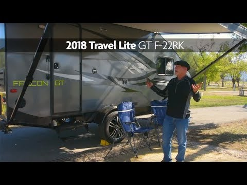 Travel Lite Falcon GT F 22RK Travel Trailer Review