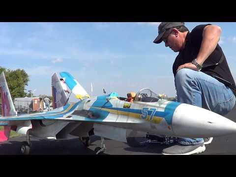 Nick's Sukoi S-27 at Saint Charles IL