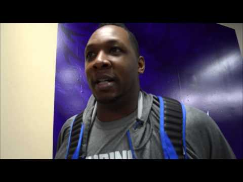 Marcus Douthit of Gilas Pilipinas talks about his NBA draft experience