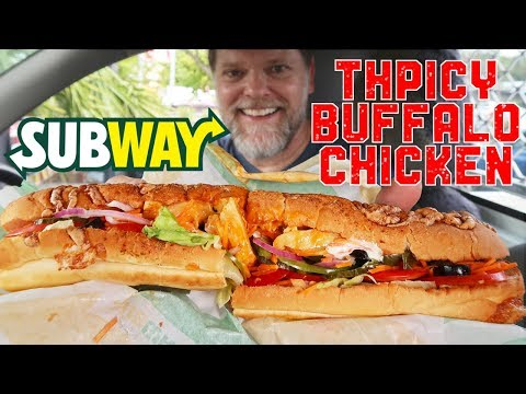 Subway Buffalo Chicken Review - Greg's Kitchen
