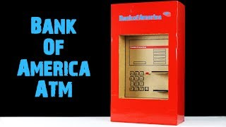 Bank of America ATM - Withdraw and Deposit Money Machine