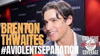 Brenton Thwaites Talks Titans S2 And Working With Batman At The Premiere Of A Violent Separation