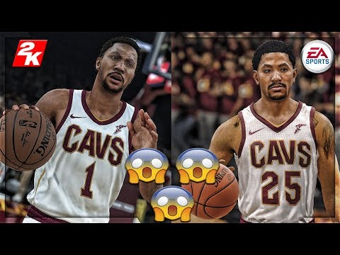 ITS NOT EVEN CLOSE!!! NBA LIVE 18 VS NBA 2k18!!! GOD LEVEL GRAPHICS