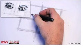 Learn How to Draw Two Eyes Part 1 of 4