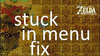 How to install And Fix new Cemu 1.11.4 Zelda Botw Menu Stuck Freeze