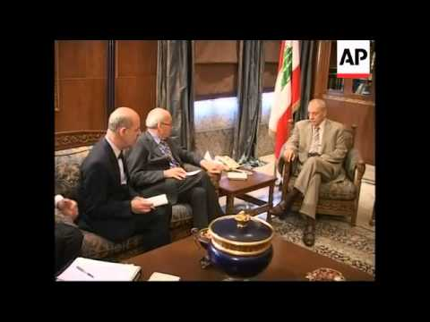 Italy's speaker of the House visit Beirut, meets counterpart Nabih Berri