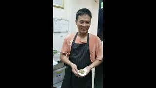 Cách gói bánh bao thịt . Pork Bun Chinese
