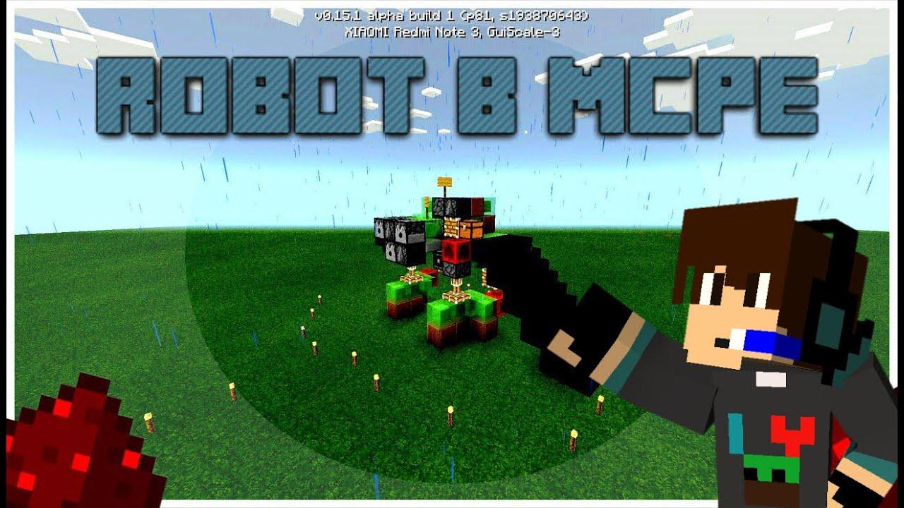 Как сделать в майнкрафте робота который ходит фото 11
