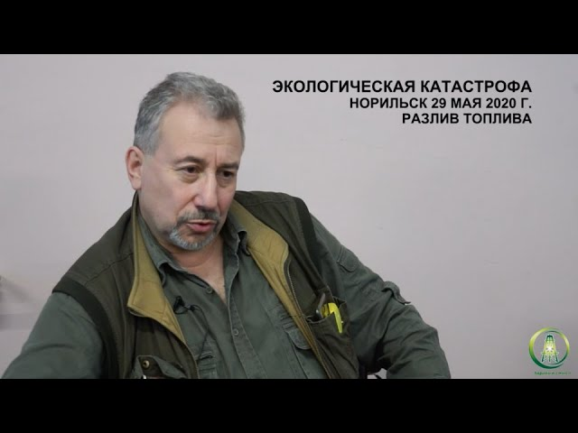 Interview with environmentalist Eugeny Schwartz on the situation in Norilsk