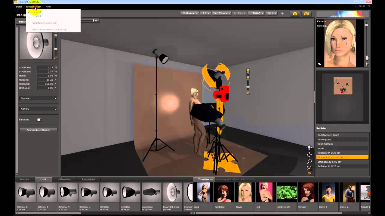 set.a.light 3D Studio Free Download
