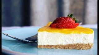 Efsane Limon Sosuyla Pişmeden cheesecake Tarifi