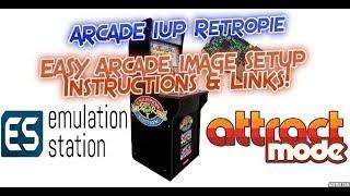 Arcade 1UP Retropie Easy Setup Arcade Image Instructions & Links Arcade 1up Mod