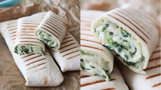 how to make creamy spinach tortillas by one kitchen episode 656