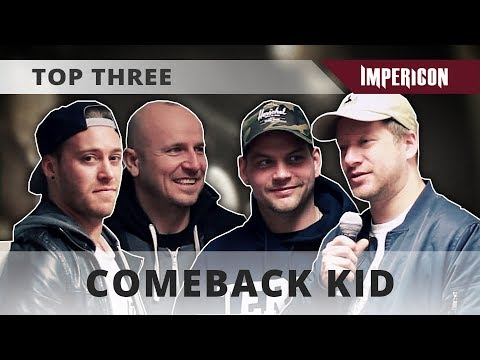 Top Three with Comeback Kid