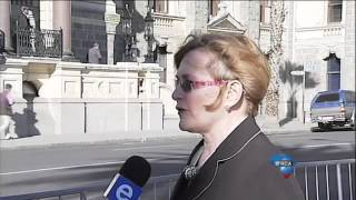 Helen Zille speaks on Madiba