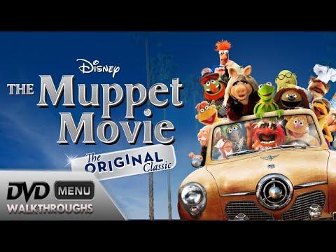 The Muppet Movie (1979, 2013) DvD Menu Walkthrough