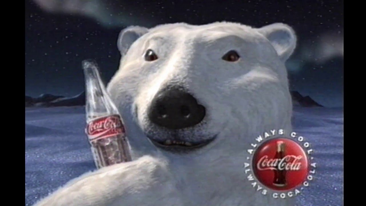 Coca Cola Classic Polar Bears TV Commercial S YouTube - 32 bears decided try human