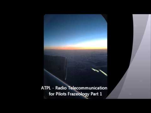 Radio Communication for Pilots ATPL part 1