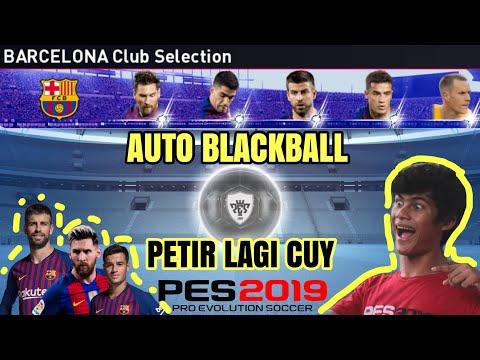 ROLLBALL DI CLUB SELECTION BARCA AUTO JOGET BOS ! EDUN PISUN 🤣 PETIR PULA 😂   PES 2019 MOBILE